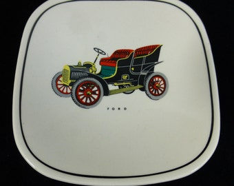 Gray's Pottery Vintage Car Ford 1950s Pin Dish - Decorative, Vintage and Collectable
