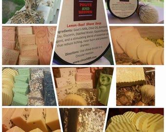 Soap, Handmade half a loaf  All natural Soap, Detox soap.