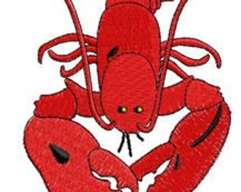 Lobster Embroidery File