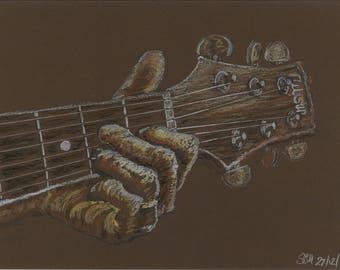 Guitarist Hand