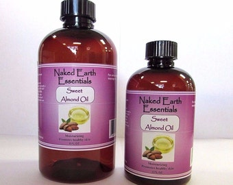 100% Pure Sweet Almond Oil Massage or Carrier Oil