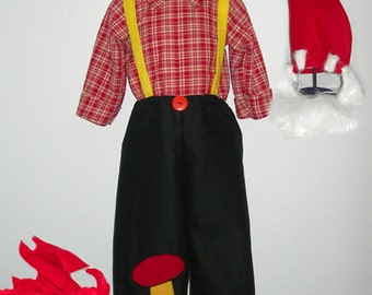 Handmade Garden Gnome Costume