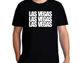 Las Vegas Three Words T-Shirt