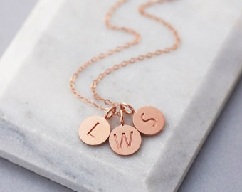 Tiny Letter Necklace | 14k Initial Necklace | Letter necklaces | Dainty thin chain | Name Initial Jewelry |Y Necklace |Initial Necklaces |RG