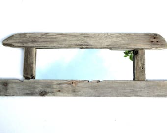 Driftwood Mirror - Wall Mirror - Nautical Mirror - Reclaimed - Wooden Mirror - Recycled - Upcycled - Wooden Mirror - Home Decor