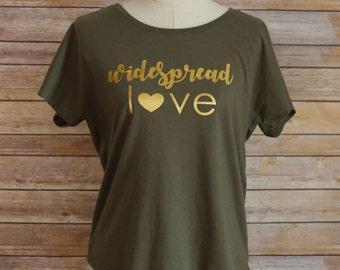 Widespread Love Dolman Tee - CUSTOM - by widespread love design