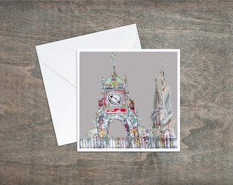 Eastgate Clock - Art Card