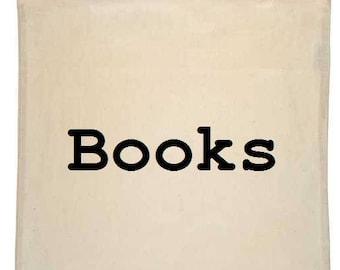 Books Canvas Tote Bag