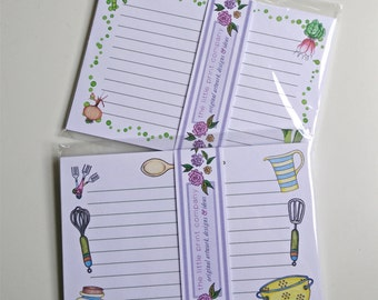 Recipe Cards, pack of 10