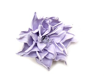 Purple ponytail holder scrunchyPurple hair tie gift|for|girls ponytail hair bows HAIR PONY hair band flower elastic flowers bow