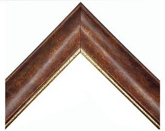 Contemporary Copper Patina Finish Picture Frame 4x6 5x7 8x10 11x14 12x16 16x20 20x24 24x36 & Custom Sizes