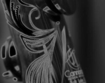 Clarinet, wall art, fine art photography, black and white, wall art, black and white print, music, clarinet