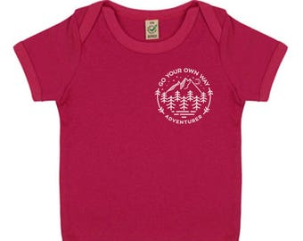 SALE: Baby Adventure Top - Go Your Own Way Eco Organic