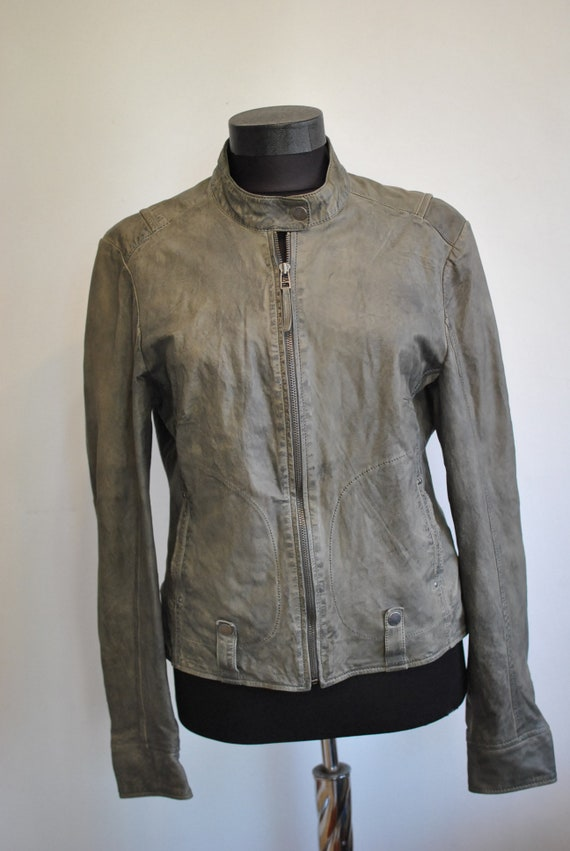 701 Vintage JACKET LEATHER women's GIPSY jacket ErqrgXw