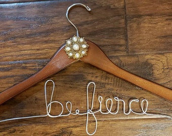 Words of Encouragement Custom Wire Hangers