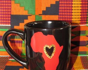 African Love coffee mug