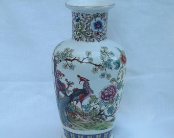 Vintage 1950's - 60 v v Carraresi oriental Vase
