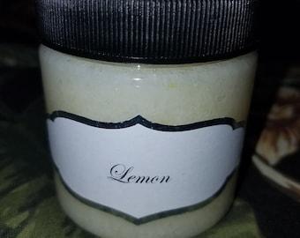 Lemon Salt Scrub 4oz