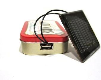 Altoids Solar USB Charger Kit