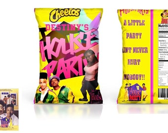 House Party Chip Bags