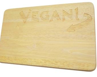Breakfast Board vegan engraving Brotbrett Vegan-Breakfast Board-engraving