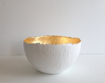 Extra Large Gold Bowl