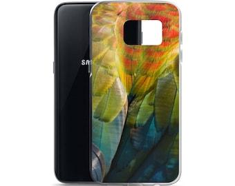 Macaw Feather Samsung Galaxy Case