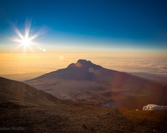 "Photo Print: ""Top of the World"" - Mount Kilimanjaro, Tanzania"