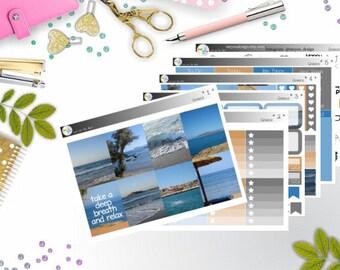 weekly kit - Greece (Erin Condren and Happy Planner Stickers)