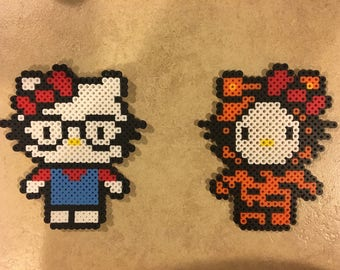 Hello Kitty Perler Beads