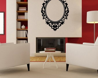Vinyl Wall Decal Sticker Frame    KTudor112s