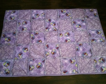 Frozen Sisters Flannel Rag Quilt