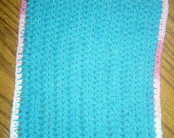 100% cotton textured dish cloth