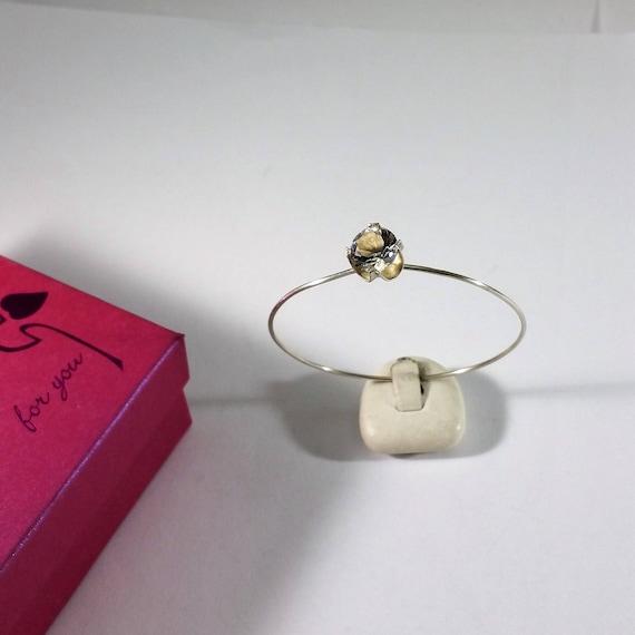 cd7685b2a527 Designer Armreif Silber 925 Kristall Finnland SA378