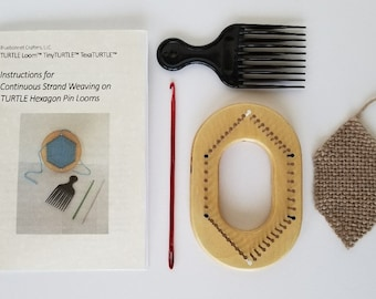 "Elongon™ 2"" - Elongated Hexagon Pin Loom Kit"