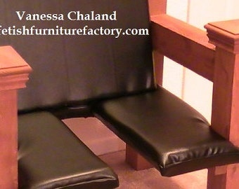 Mature: Sex Chair, Queening Chair, Queening Stool, Queening Throne, BDSM, Face Sitting Chair, Dungeon, Sex Chair, Sex Toy, Rimming Chair,