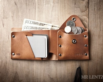 Guitar Pick Wallet, Leather Pick Wallet, Pick Holder, Leather Wallet, leather bifold, leather wallet 017