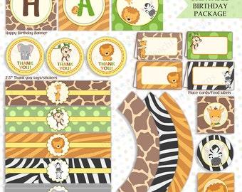 Jungle Safari Baby Shower DecorationsDecor Birthday Party