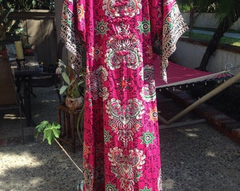 VINTAGE  60s DASHIKI DRESS
