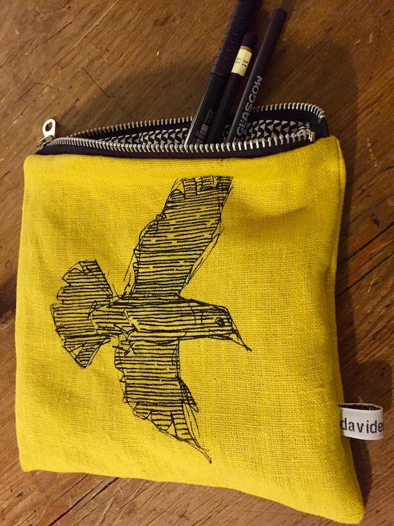 Jackdaw pouch