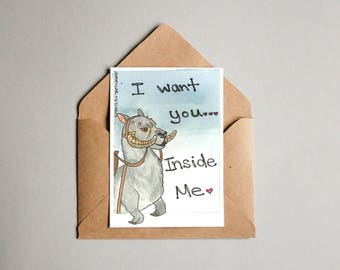 Dirty Taun Taun (anniversary card) Love Note