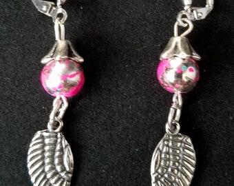 bead pearl earrings