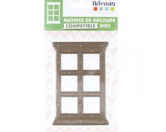 die / die cut artemio home sweet home window right 12X8.1 x 1 cm