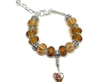 Early Autumn European Style Charm Bracelet
