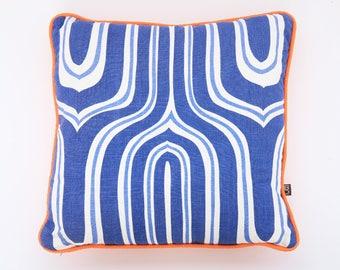 "Raoul Textiles Nigel Linen pillow - 18"" Square Pillow"