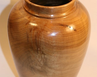 Olive Burl Vase / Vessel  -  Item 1014