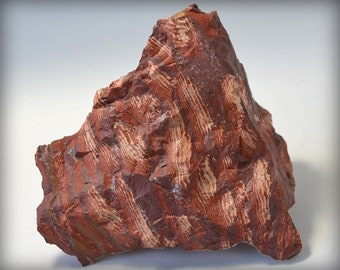 Beautiful Large Hunk of Red Snakeskin Jasper - Stone from Australia