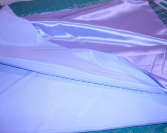 """Lavender Heavy Silk Satin Fabric  44"""" Wide 2 yard and 13"""" Long"""