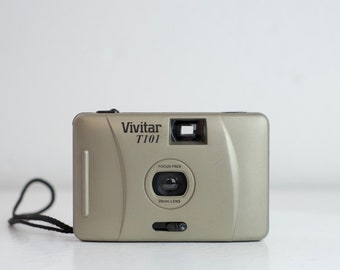 Vivitar T101 28mm Wide Angle Lens Point and Shoot 35mm Film Camera