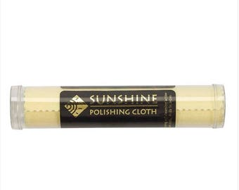 Sunshine Polishing Cloth - Most incredible Jewelry Cloth Available